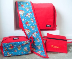 This is a photo of the whole Onbag set..