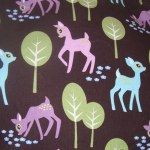Michael Miller's 'Pet Deer' fabric.