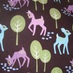 Michael Miller's 'Pet Deer' fabric.